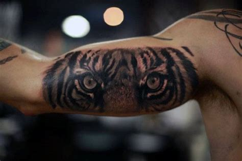 40 tiger eyes tattoo designs for men realistic animal