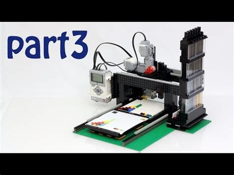 lego printer tutorial telecine step step con arduino doovi