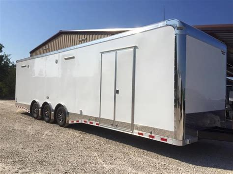 enclosed trailer with bathroom 2017 34 bathroom shower trailer auto master car