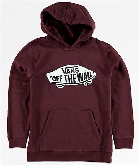 Hoodie Sweater Jumper Vans Of The Wall vans boys otw port camo hoodie zumiez