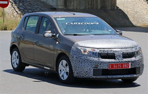 renault logan facelifted 2017 dacia sandero logan mcv spied carscoops