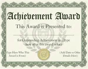awards template awards certificate templates certificate templates