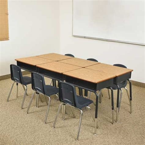 classroom student desk all classroom packages open front desk chair sets by