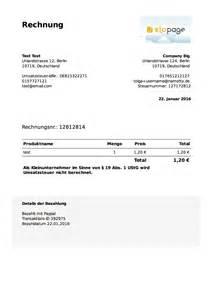Rechnung Kleinunternehmer Erstellen Produkt Update Komfortable Rechnungserstellung Jetzt Auch F 252 R Kleinunternehmer Elopage