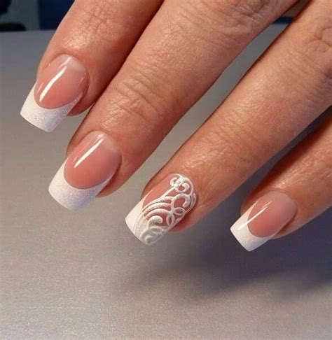 manicure with color 50 awesome tip nails to bring another dimension to
