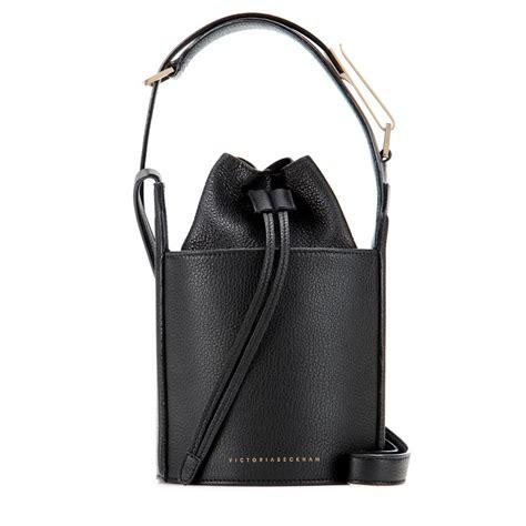 Bag Beckham D5562 2 lyst beckham micro leather bag in black