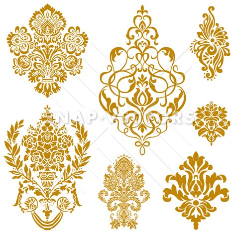 Decorative Ornaments For The Home Floral Ornament Clipart 48