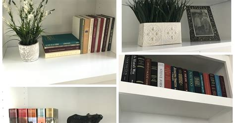 great tips for accessorizing bookcases although there honey i m home styling bookshelves ii