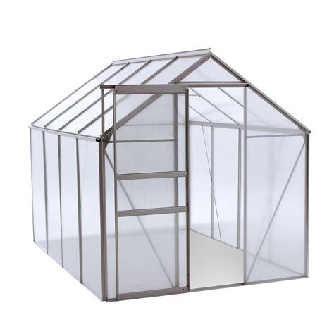 ogrow walk in 6 ft x 8 ft lawn and garden greenhouse