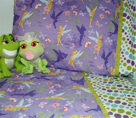 items similar to toddler bedding tinkerbell design