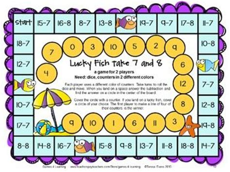 printable math board games for grade 6 406 best images about math board games on pinterest math