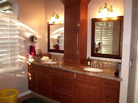 Bathroom Countertop Storage Ideas by Countertop Linen Storage In The Bathroom Counter Storage