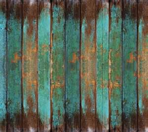 turquoise wood mural wallpaper m9211 6 panels country