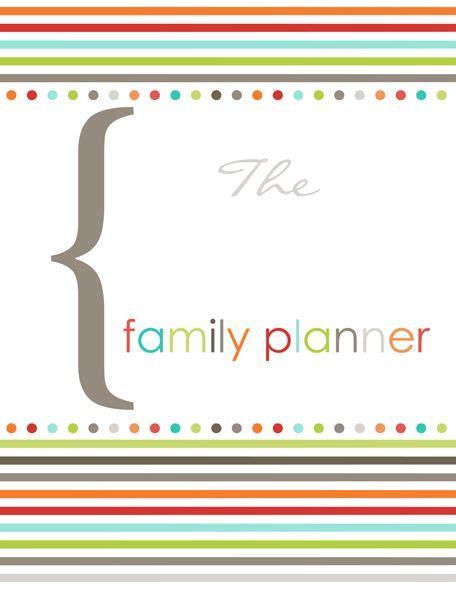 templates for notability family organizer printable fillable pdf templates