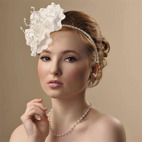 Handmade Headpieces - handmade georgina wedding headpiece by rosie willett