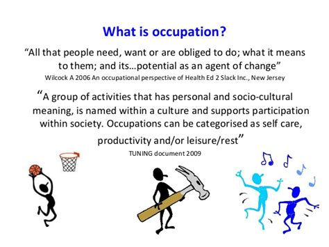 themes of meaning occupational therapy occupational science and its application to occupational