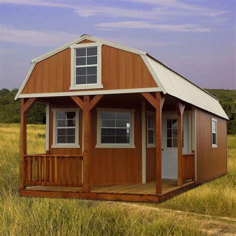 Lofted Barn Cabin Plans by Derksen Deluxe Lofted Barn Cabin