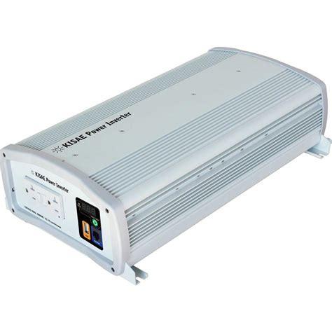 Power Inverter Sine Wafe Kaller 24v 2000w kisae 2 000 watt sine wave inverter sw1220 the home depot