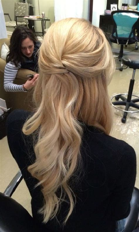 half up half down hairstyles for interview pretty half up half down wedding hairstyle partial updo