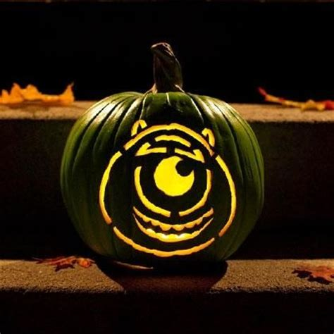 mike wazowski pumpkin carving template mike wazowski pumpkin carving template disney holidays