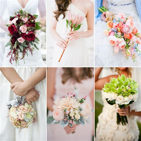 Of Wedding Flowers by Types Of Bouquets Fiftyflowers The
