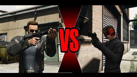 dramafire judge vs judge judge dredd vs terminator ultimate battle gta 5 youtube