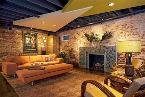 ceiling ideas for basements 36 practical and stylish basement ceiling d 233 cor ideas