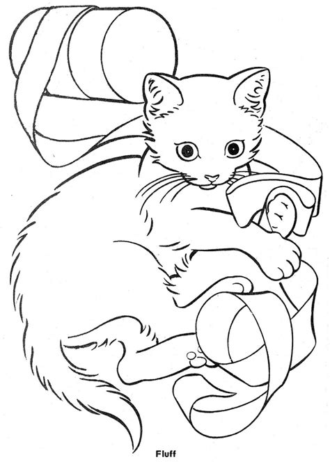three little kittens coloring page az coloring pages