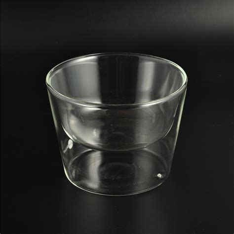 borosilicate glass blown borosilicate glass wall glass cup