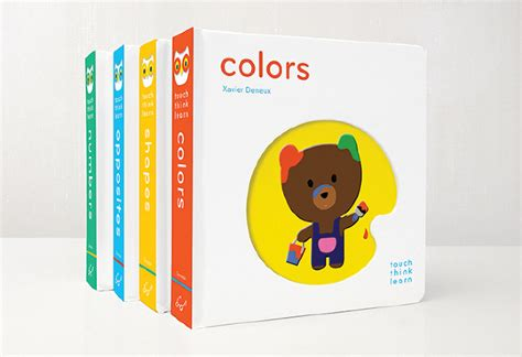 thriving in this through laughter learning books xavier deneux board books to make babies touch think and