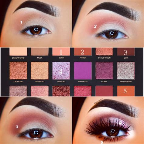 Eyeshadow Huda 96 best huda desert dusk palette images on
