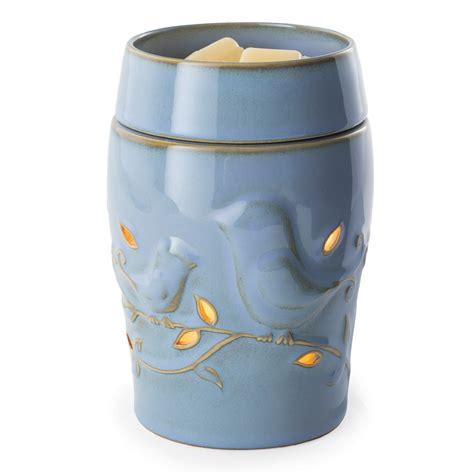 illumination fragrance wax warmer bluebird