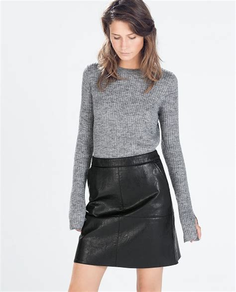 how to wear a leather skirt style tips and ideas