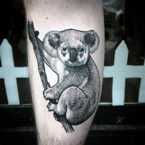 30 koala tattoo designs for men wild animal ink ideas