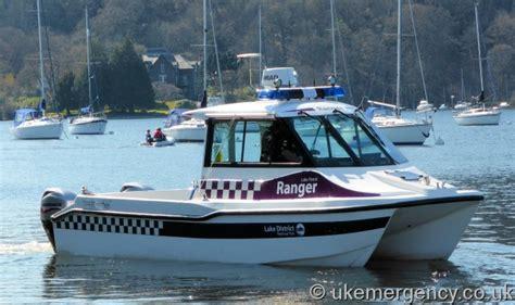 boat registration windermere a lake patrol ranger boat on windermere uk emergency