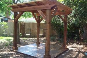 backyard pergola traditional patio houston by millbrook construction llc