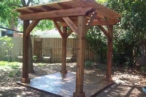 Backyard pergola traditional patio houston by millbrook
