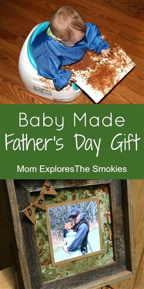 baby made father s day gift father s day gifts diy father s day gifts and father s day