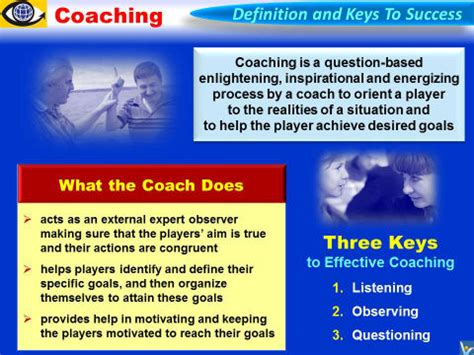 meaning of couching performance coaching quotes quotesgram