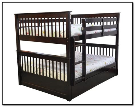Double Bunk Beds Top And Bottom Beds Home Design Ideas Top Bottom Bunk Beds