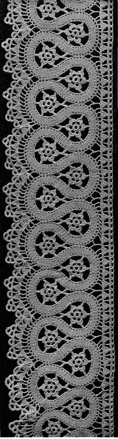 antique pattern library crochet crochet lace booklet in the public domain from madame