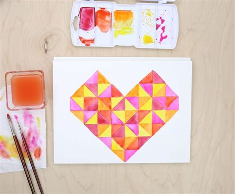 watercolor heart tutorial 14 best adult coloring images on pinterest adult