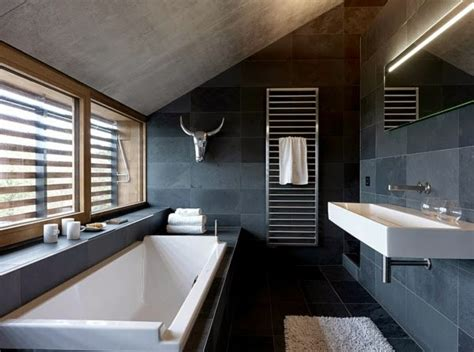 17 Modern Luxury Bathroom Designs Black Gray Color Schemes Modern Bathroom Color Schemes