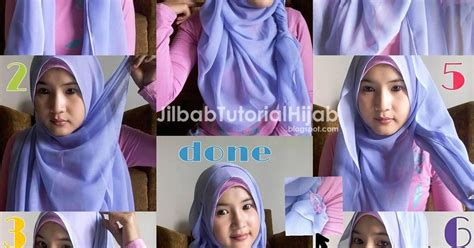 tutorial hijab sehari hari untuk wajah bulat 6 tutorial hijab segi empat untuk wajah bulat jilbab