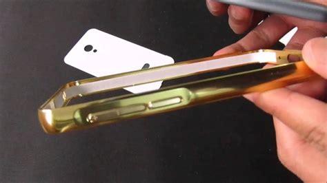 Bumper Mirror Meizu M2 unboxing meizu m2 aluminium bumper mirror gold
