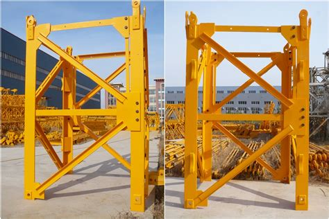 tower crane mast section hot sale chip stye tower crane mast section l44 buy
