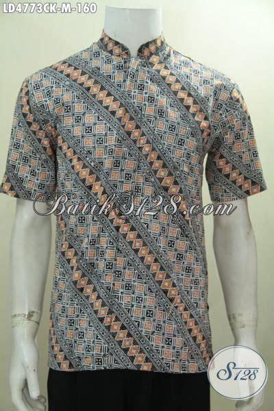 desain baju batik gaul hem batik koko motif parang desain modern baju batik