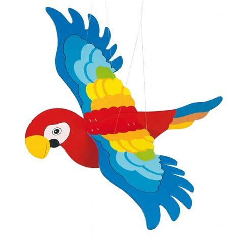 tolle kinderzimmer deko schwing papagei tolle papageien deko im kinderzimmer