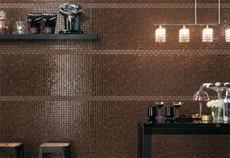 mosaic tiles and modern wall tile designs in patchwork modern interiors with mosaic tiles creating color mood