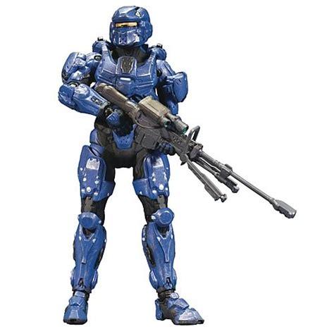 halo 4 figures halo 4 series 1 blue spartan soldier figure